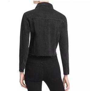 Res Denim Jackets & Coats - RES FRAYED ZIPPED CUFFS DENIM JACKET